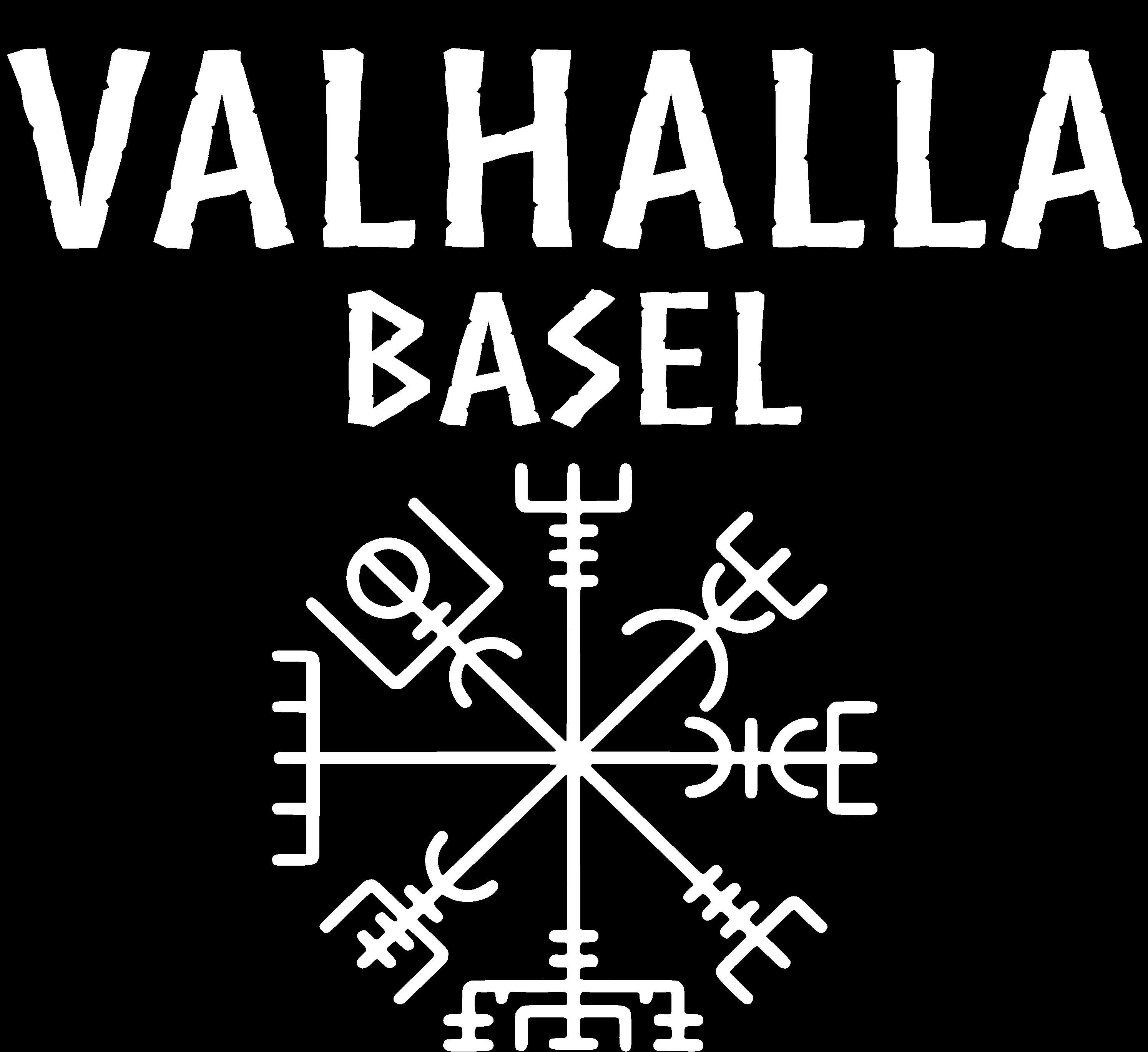 Valhalla Logo Weiss